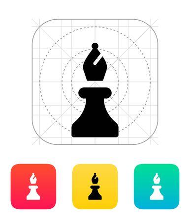 bishop: Chess Bishop icon  Illustration