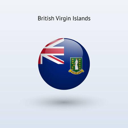 virgin islands: British Virgin Islands round flag