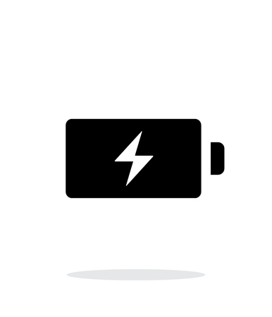 Energy simple icon on white background. Vector