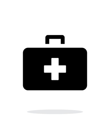 medical case: Medical Case icon on white background. Vector illustration. Illustration