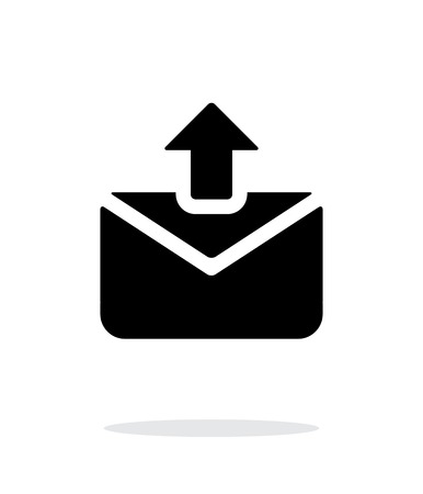 Envelope signs for web. Sending mail icon on white background. Vector illustration.