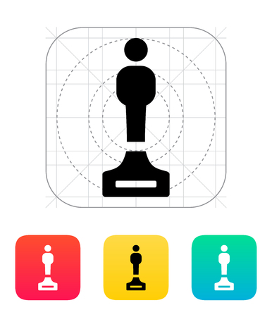 melodist: Best person icon on white background. Illustration