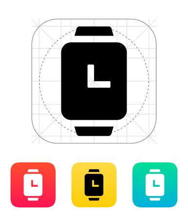 wristlet: Time on smart watches icon.