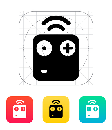 controlled: Wireless remote icon.