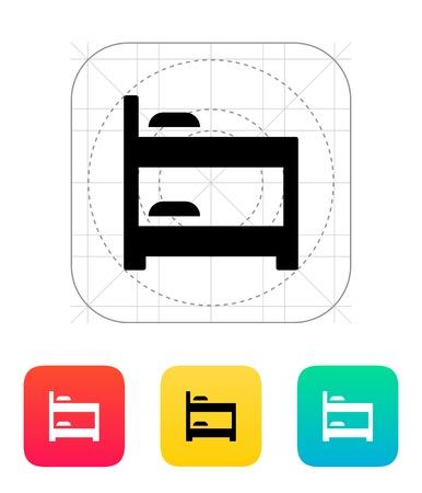 bunk bed: Bunk bed icon.