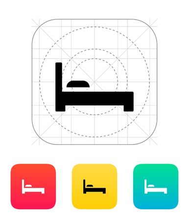 bed icon: Bed icon.