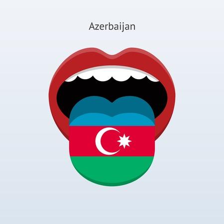 linguist: Idioma Azerbaiy�n. Lengua humana abstracta. Vectores