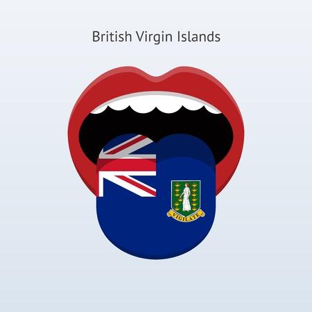 linguist: British idioma Islas V�rgenes. Lengua humana.