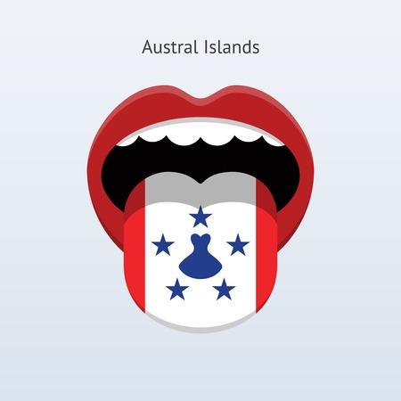 linguist: Austral Islands language. Abstract human tongue.