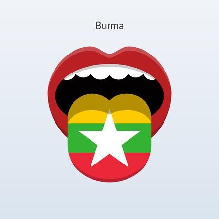 linguist: Idioma Birmania. Lengua humana abstracta.