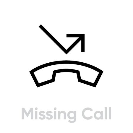 Missing Call icon