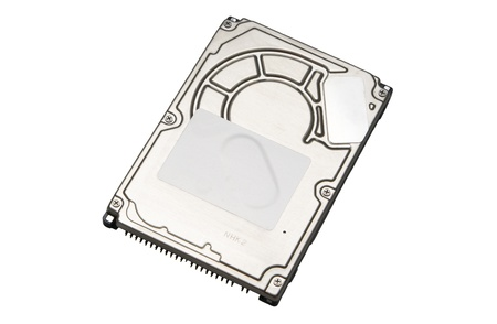 Isolated Laptop HDD Stock Photo - 16016885