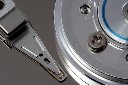 Festplatte Detail zu akzentuieren die K�lte der Technik