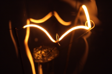 Makro elektrische Lampe