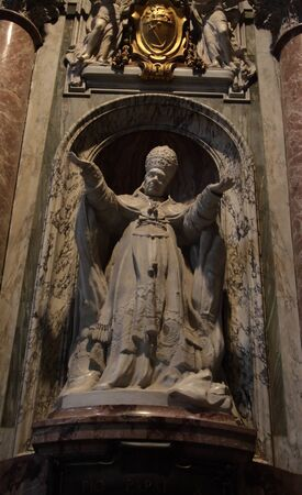 bernini: In St  Peter s cathedral in Vatican