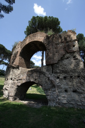 Ruinen einer alten r�mischen Forum