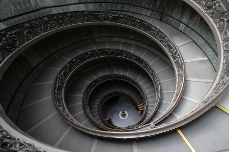 Italy  Rome  Vatican  A double spiral staircase