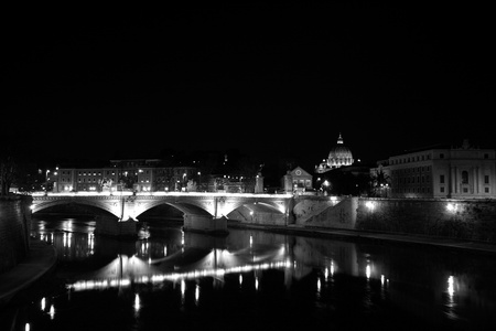 View of a cathedral of St. Peter from at night. Stock Photo - 16018848