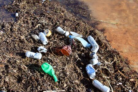 Environmental contamination in the black sea photo