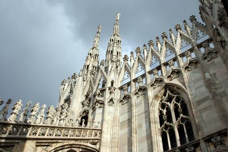 Cathedral Duomo in Milan Italy photo