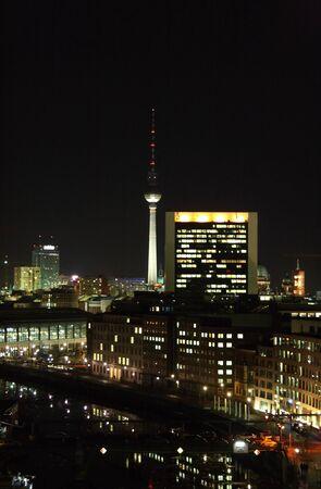 nite: alexander platz tower germany