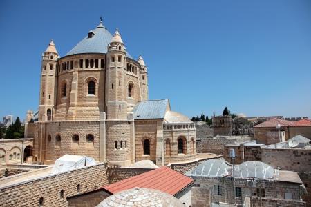 Old Jewish quarter in Jerusalem