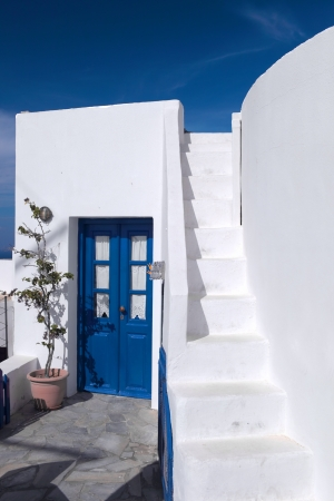 Beautiful views of Santorini photo