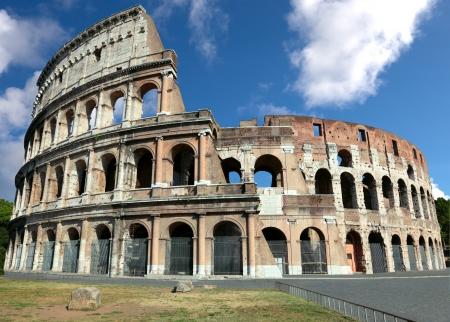 Colosseum Amphitheater in Rom, Italien. Standard-Bild - 22044315