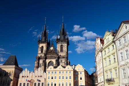 Prague, Old Town Square Standard-Bild