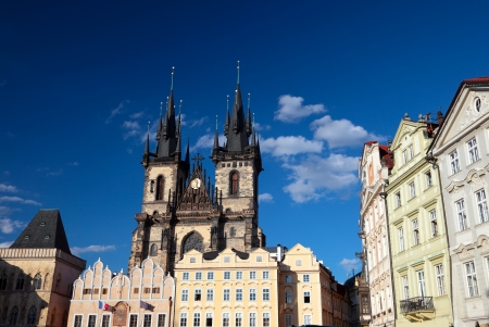 Prague, Old Town Square Stock Photo