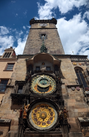 Prague, Czech Republic, Old Town Clock