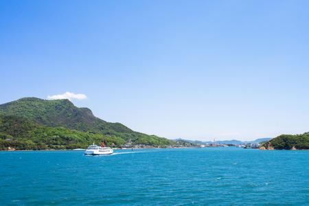 Shodoshima Tonosho Port background