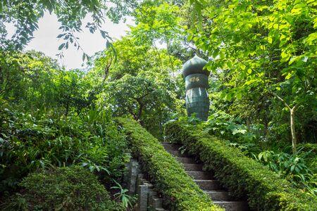 mound: Paintbrush mound of Egara Tenjin Shrine