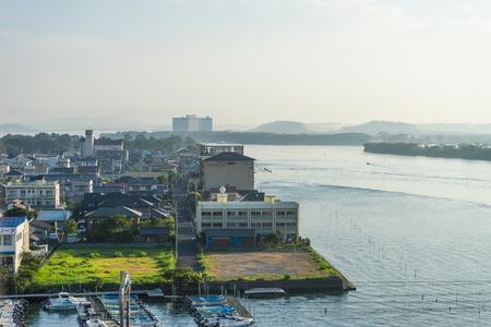 early morning: Early morning Hamanako