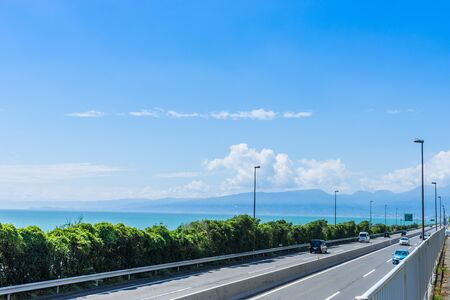 1: Route 1 along the Sagami Gulf
