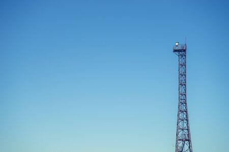 steel tower: High steel tower