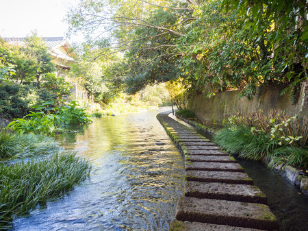 stepping stone: Genbe River