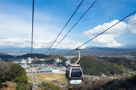 ropeway: Ropeway of the Izunokuni panorama park Editorial