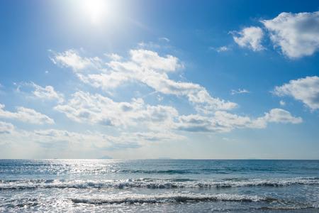 on shore: Sea of Imaihama-Kaigan shore