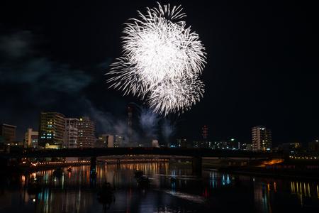 poetic: Kano River fireworks display  Numazu summer festival