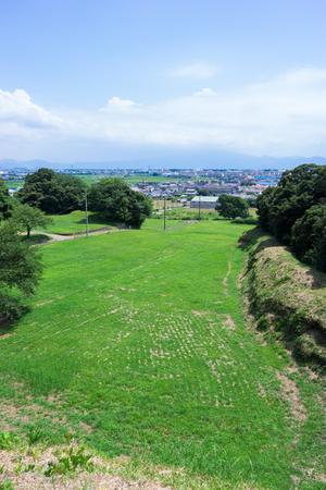 Kokokuji 城の本丸フィールドワーク