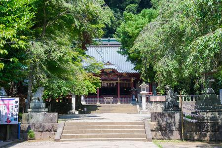 main: Izusan shrine main hall