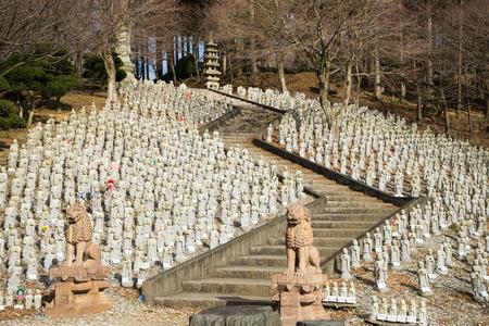 jizo: Arigatayama Mountain Jizo Group
