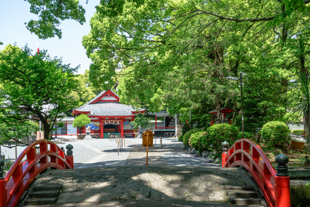 Yonenomiya Sengen Shrine Stock Photo - 82710059