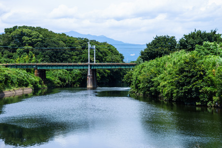 Tokaido Main Line and Kise River