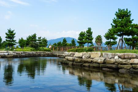 Tide pool at Yaizu fishing port