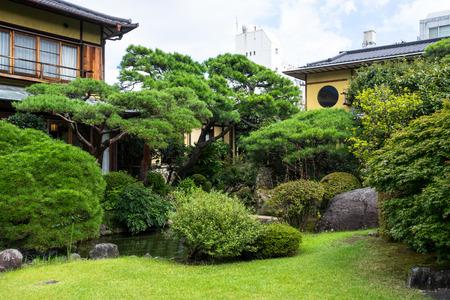 The famous garden of Atami kiunkaku Editorial