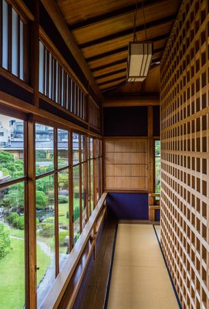 Corridor of Japanese architecture