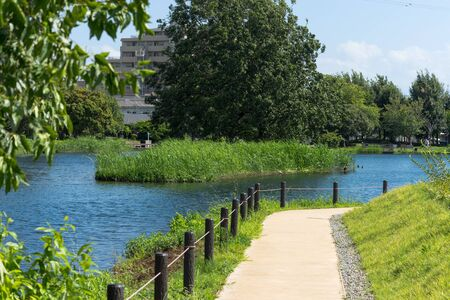 Promenade of Nakazato Onsuichi Pond