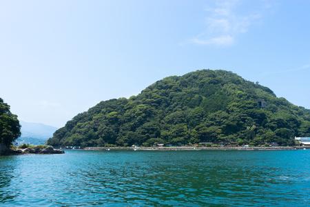 Resort uninhabited island Numazu Awashima Editöryel